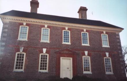 Governor Nelson's home, Cornwallis' headquarters, near the bluff, Yorktown, VA