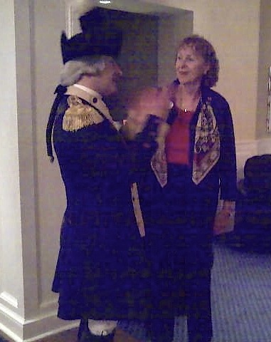 Meeting Marquis de  Lafayette at Williamsburg