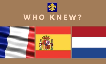 French, Spanish and Dutch flag